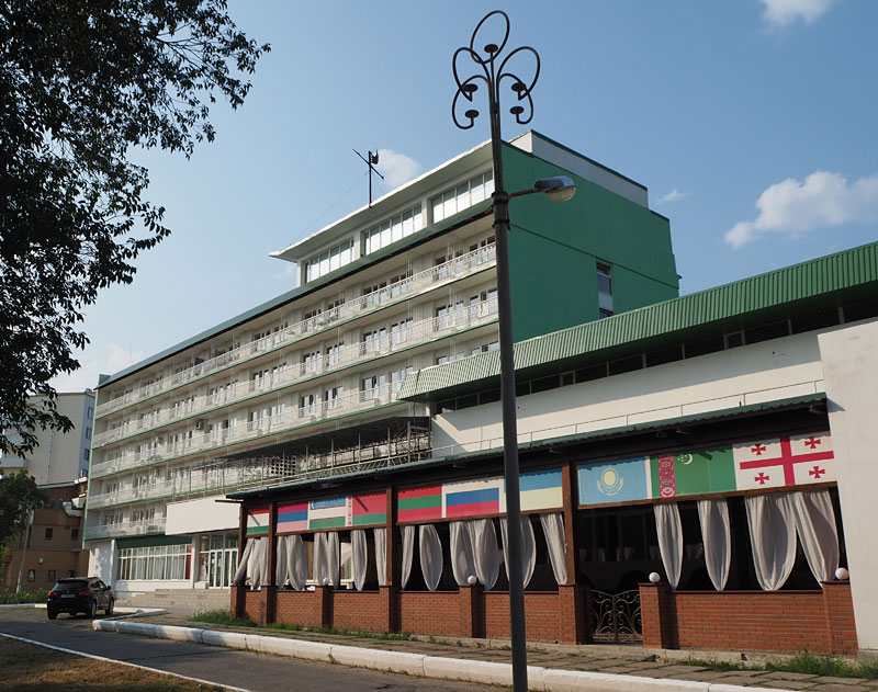 Hotel Aist in Tiraspol is a Soviet time capsule