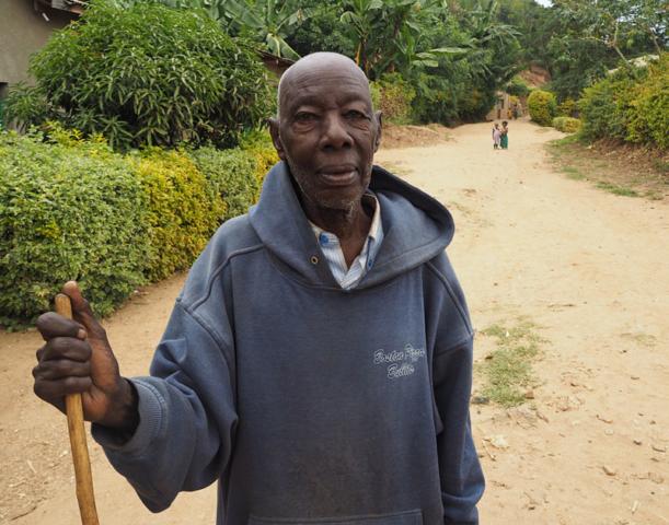 A village elder near Gisenyi.
