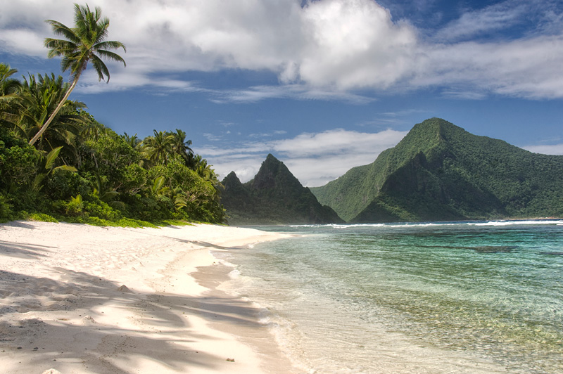 Ofu Beach is one of the most beautiful in all of Polynesia.