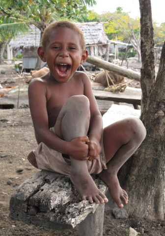 Vanuatu is consistently ranked among the world's happiest countries