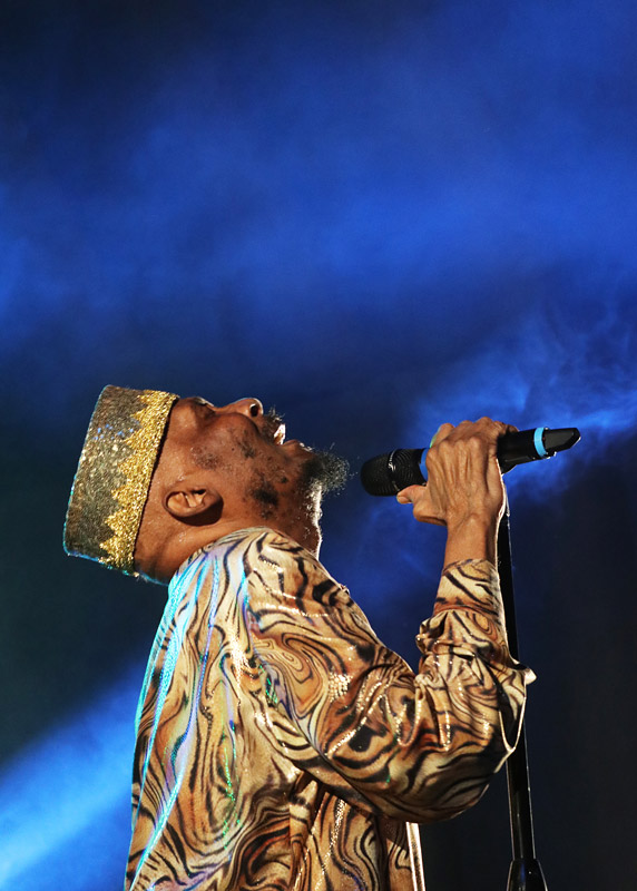 Reggae legend Jimmy Cliff performs at the Bay of Islands Music Festival
