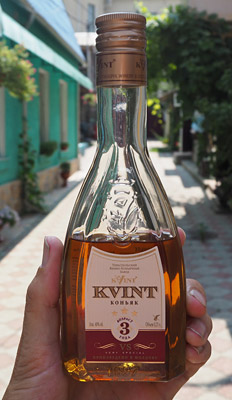 Kvint brandy is Transnistria's best known export