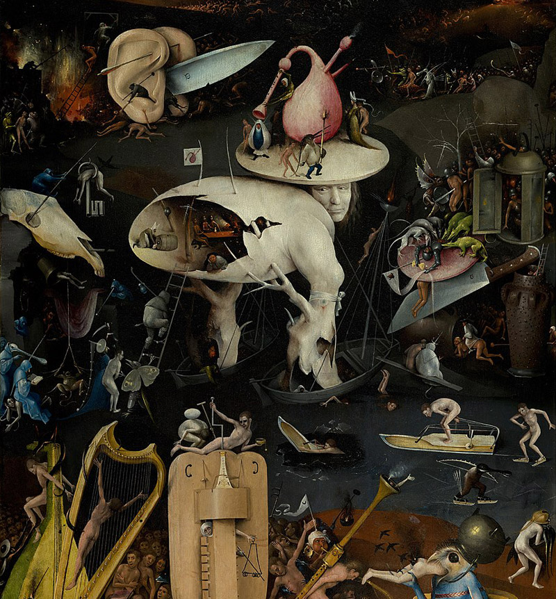 Detail from The Garden of Earthly Delights by Hieronymus Bosch