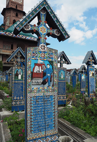 More than 800 villagers lie in the Merry Cemetery.