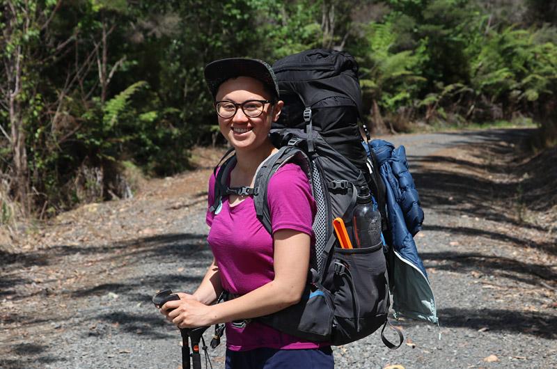 Rose Jang, Canada, in Waitangi Forest