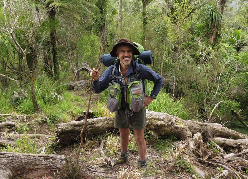 Mark Laugesen, Australia, in Puketi Forest