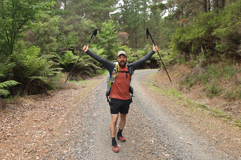 Zac Delacy, Australia, in Waitangi Forest, Kerikeri