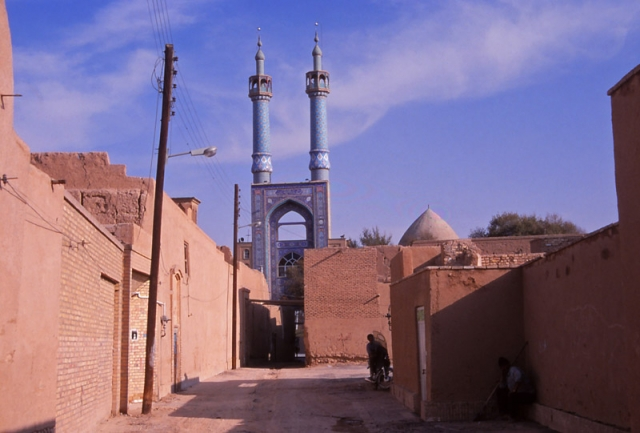 Street scene in Yazd, according to UNESCO one of the oldest cities in the world