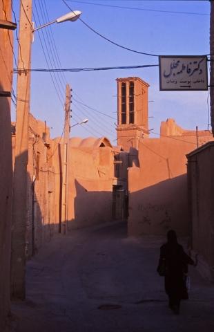 Street scene in Yazd