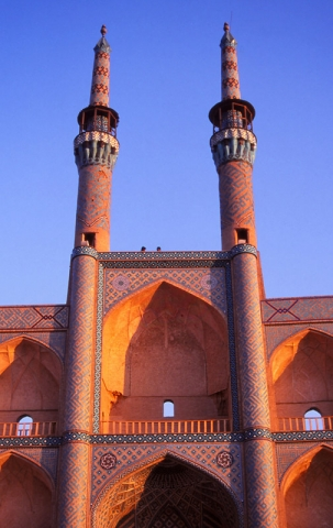 Part of the 15th century Amir Chaqmaq complex in Yazd