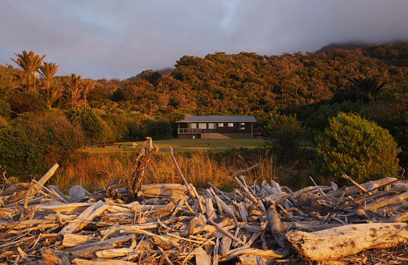 Staying at Heaphy Hut is one of the highlights of the walk