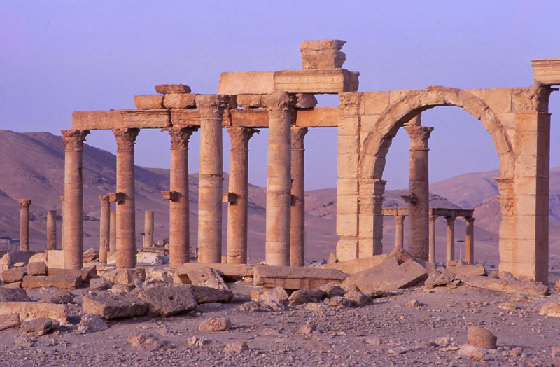 Part of Palmyra's Great Colonnade