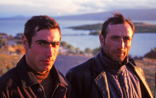 Men of Akçakale village, eastern Turkey