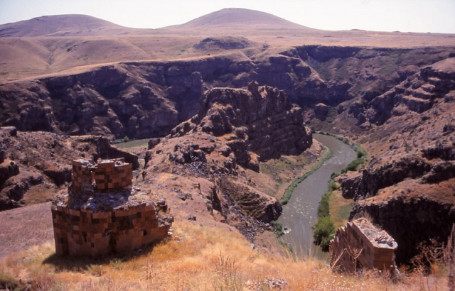 The ruins of Ani, a 10th century Armenian city