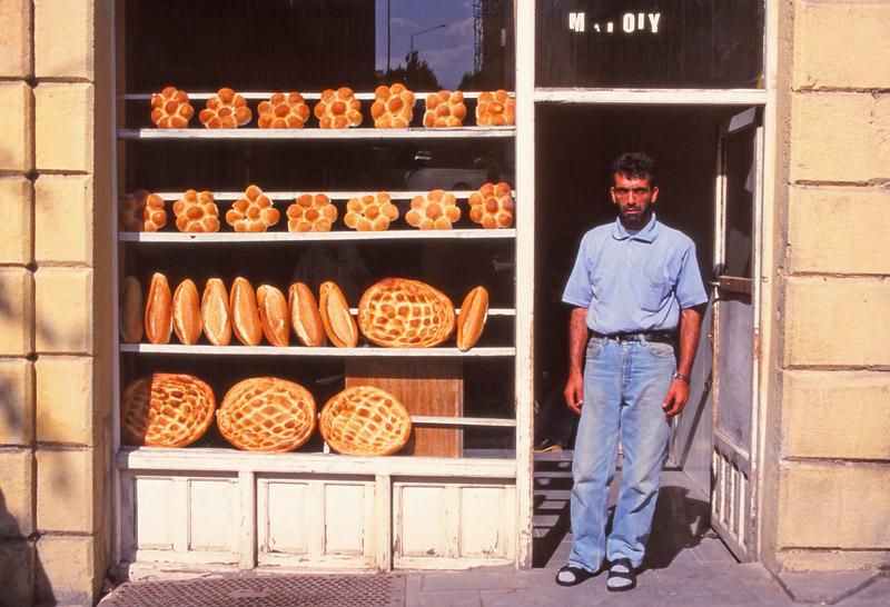 The town baker in Kars