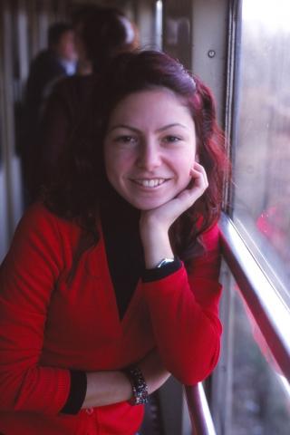 A girl named Gülşah on the train to Edirne
