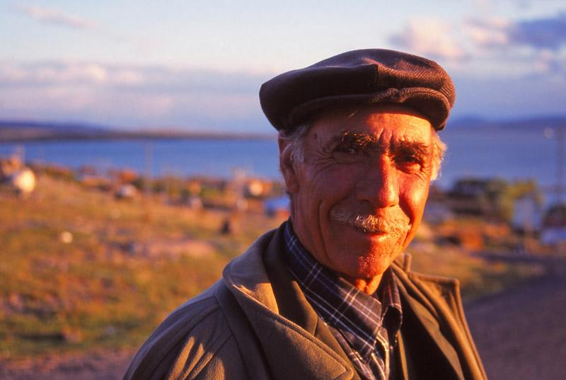 My host in Akçakale village, Mustak Cimşit