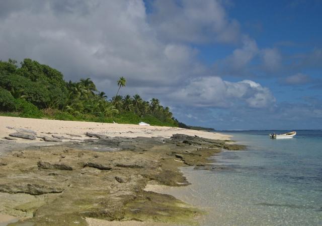 Ha'atafu Beach on Tongatapu Island