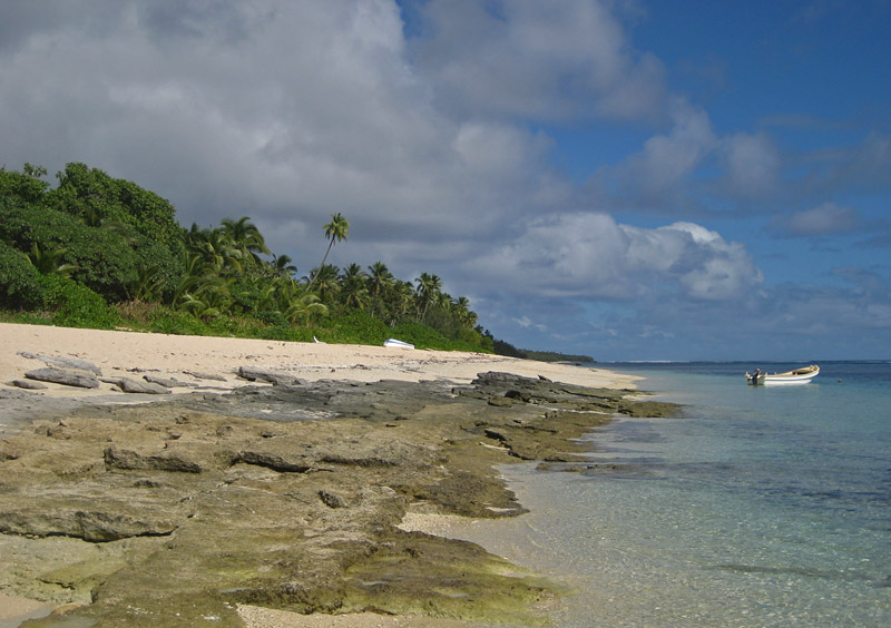 Ha'atafu Beach on Tongatapu Island