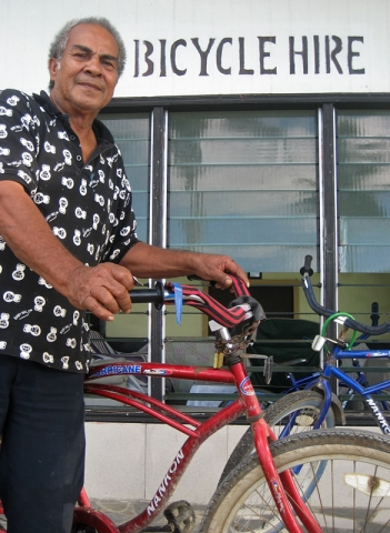 Bicycle hire in Nuku'alofa