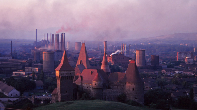 Is this the world's most bizarre place for a castle?