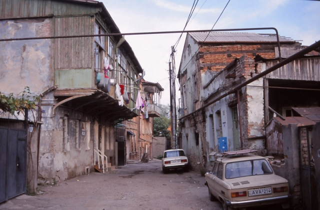 A back street in Tbilisi