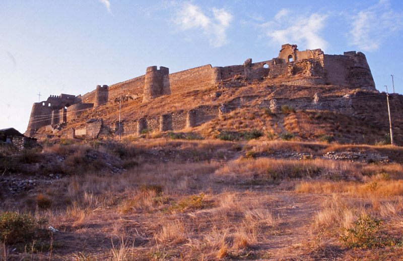 A fort has crowned this hill in Gori since Roman times