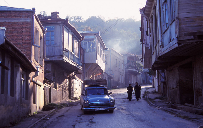 Street scene in Sighnaghi