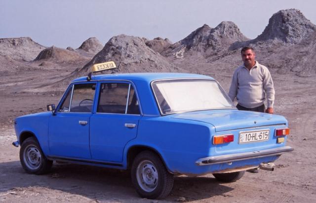 Şoxradin, my taxi driver to Qobustan