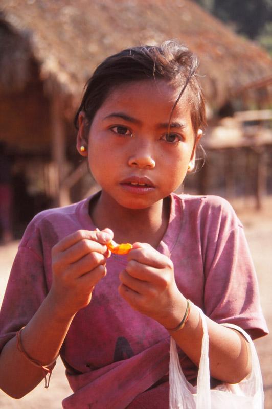 Village girl in Ban Nalan Neua village