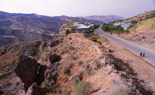 Rugged landscape around Goght village