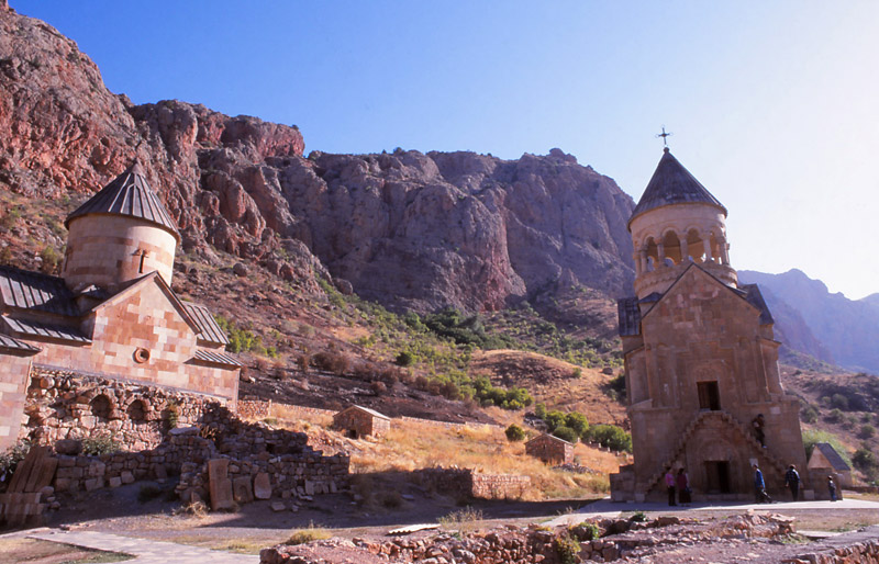 These churches at Norovank Monastery were built more than 700 years ago.