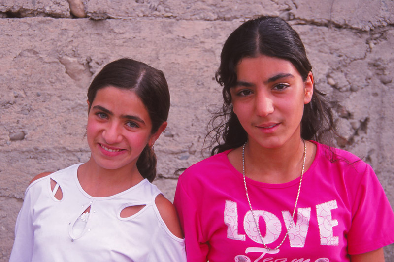 Girls of Areni village during Armenia's first National Wine Festival