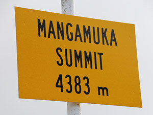 New Zealand's highest peak?