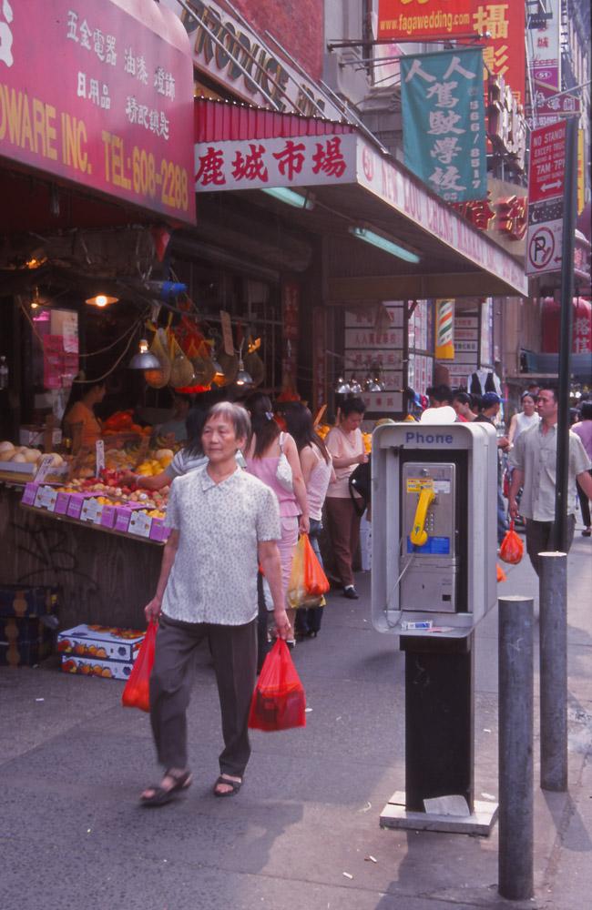 Chinatown, New York City, USA, 2004