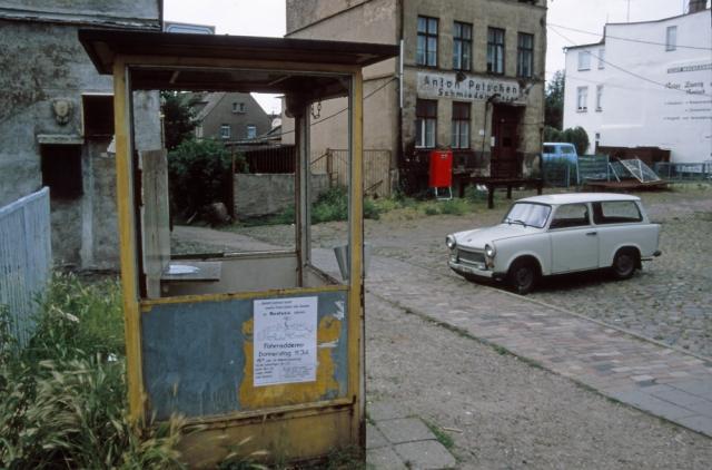 Rostock, East Germany, 1990
