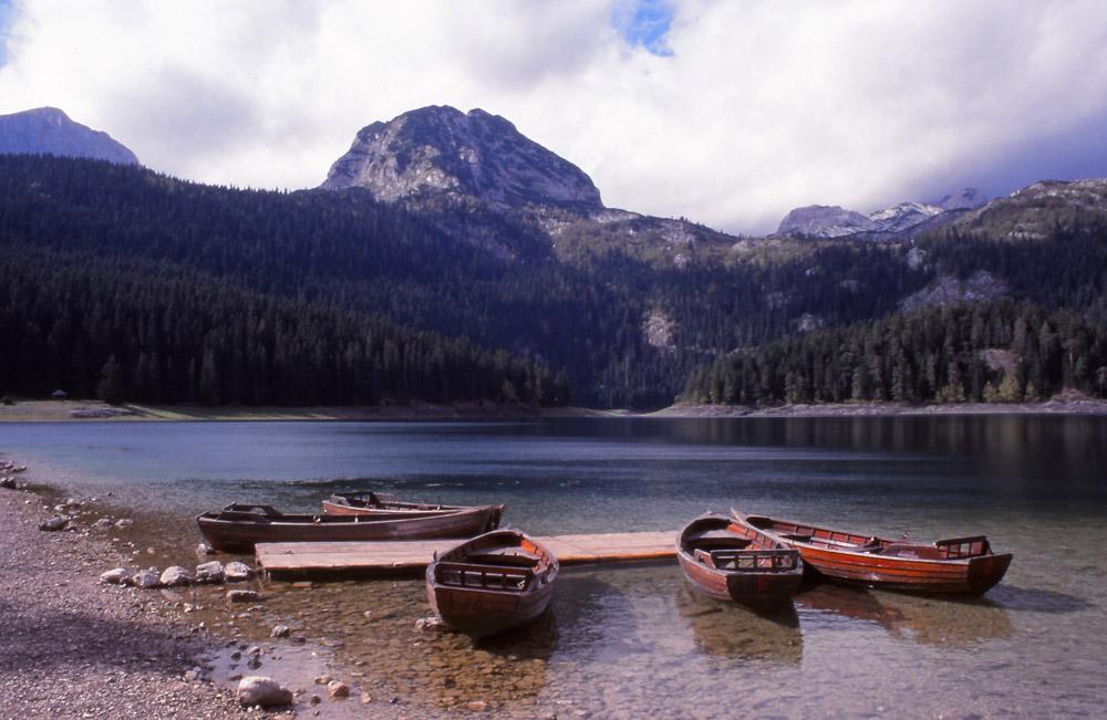 Montenegro, 1999: Crno Jezero (Black Lake) in Durmitor National Park