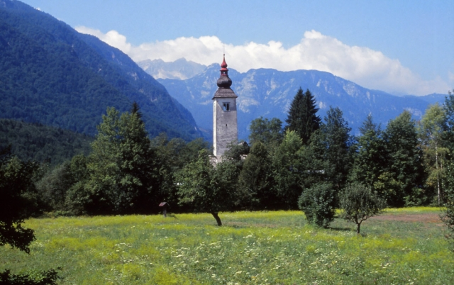 Slovenia, 1994: The countryside in postcard-pretty Slovenia could be mistaken for the Austrian Alps