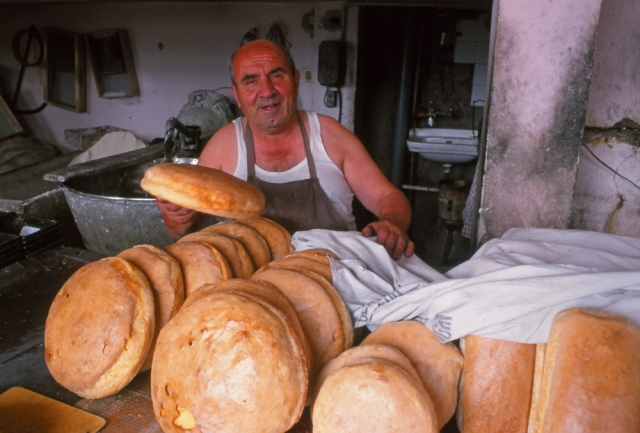 In Krujë bread is still made by hand at the town bakery