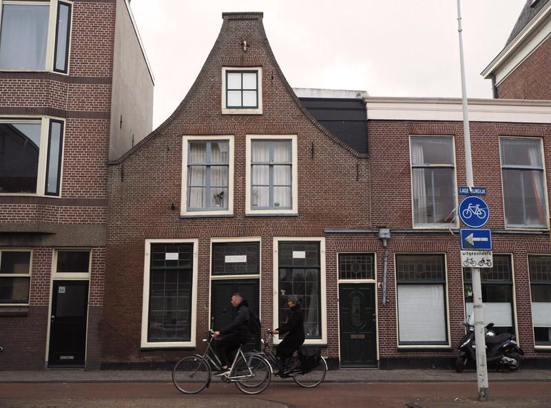 The de Graafs' ancestral home on Lage Rijndijk in Leiden